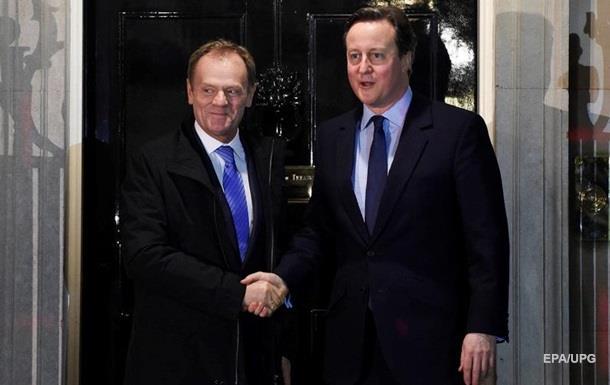 Выход Британии из ЕС: Кэмерон одобрил предложения Брюсселя