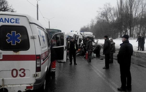 ДТП со  скорой  в Харькове: уже четыре жертвы