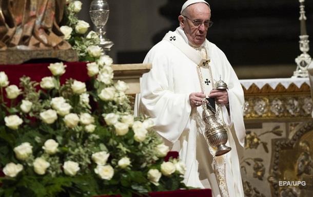 Папа Римський вперше привітав китайців з наступаючим Новим роком