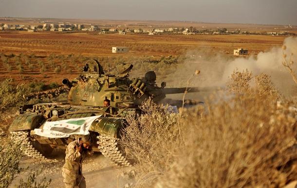 Армия Асада отрезала оппозицию от пунктов снабжения