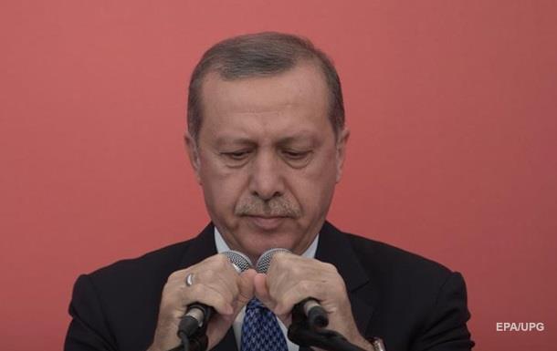Ердоган: Переговори щодо Сирії неможливі через РФ