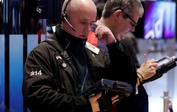 Фондові торги США закрилися падінням
