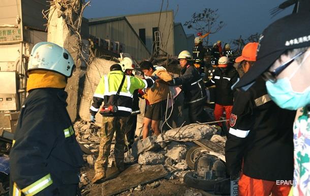 Землетрясение на Тайване: погибли 17 человек