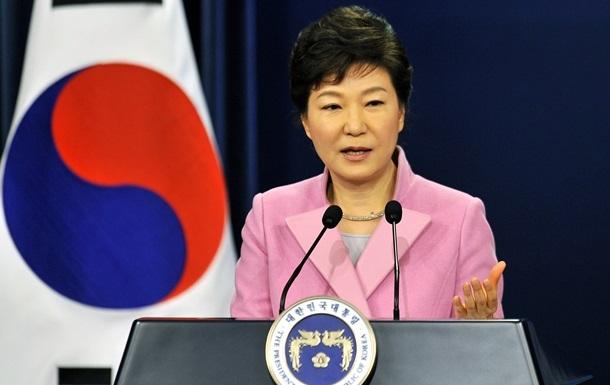 Президент Южной Кореи призвала к жестким санкциям против КНДР