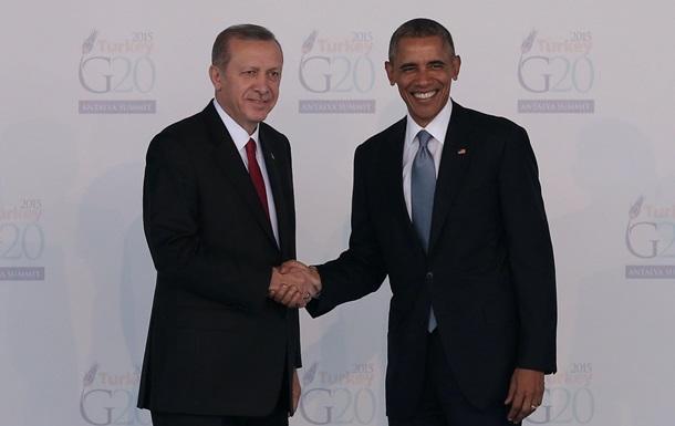 Эрдоган: США должны выбрать между нами и курдами
