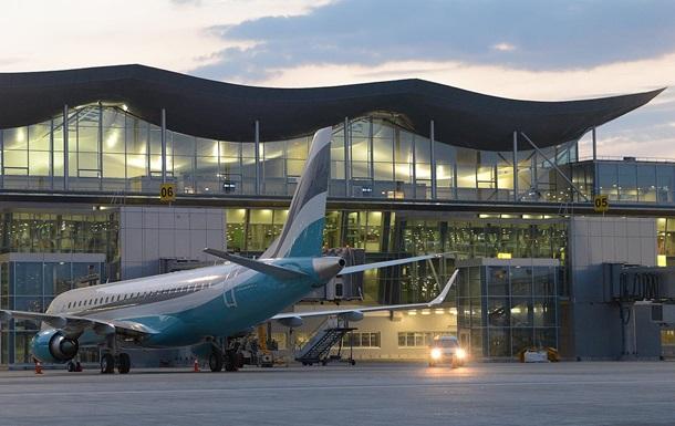 В Борисполе пьяный угрожал взорвать самолет