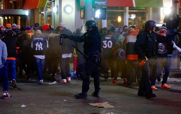 В американском Денвере фанаты устроили массовые беспорядки