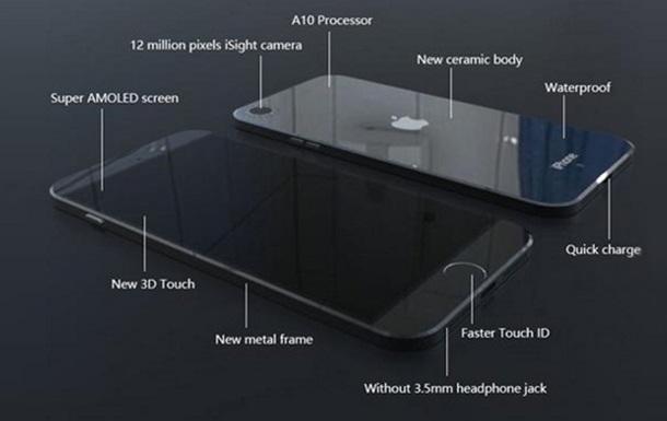 iphone 7 дизайн