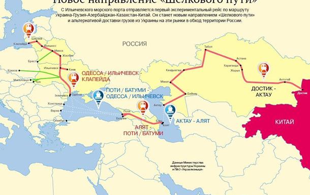 Как Украина влезла на чужой Шелковый путь