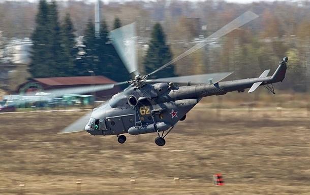 У Росії впав вертоліт з військовими: четверо загиблих