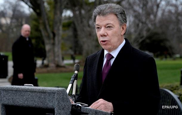 Глава Колумбии проведет референдум по соглашению о мире с повстанцами