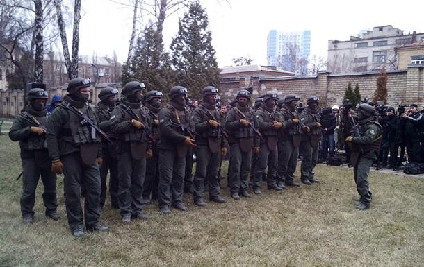 В НАБУ появилась рота спецназа с бронетехникой