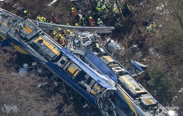 Число жертв ж/д аварии в ФРГ возросло до десяти