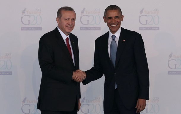 Ердоган засумнівався у партнерстві Туреччини з США