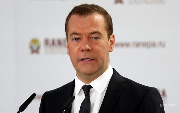 Медведєв просить ЄС визначитися у відносинах з РФ