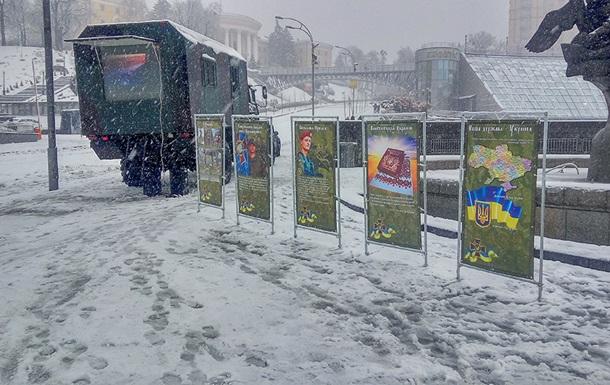В Киеве появились агитбригады Нацгвардии