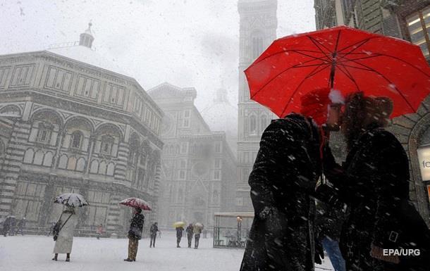 В Україні на 14 лютого штормове попередження