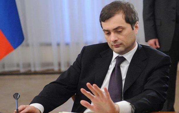 В СБУ розповіли про візити Суркова на Донбас