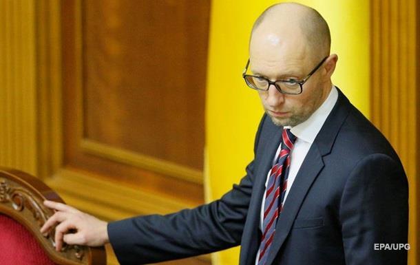 Яценюк: Порошенко не призывал меня к отставке