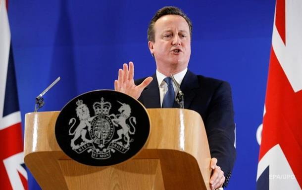Великобритания не станет еврозоной - Кэмерон