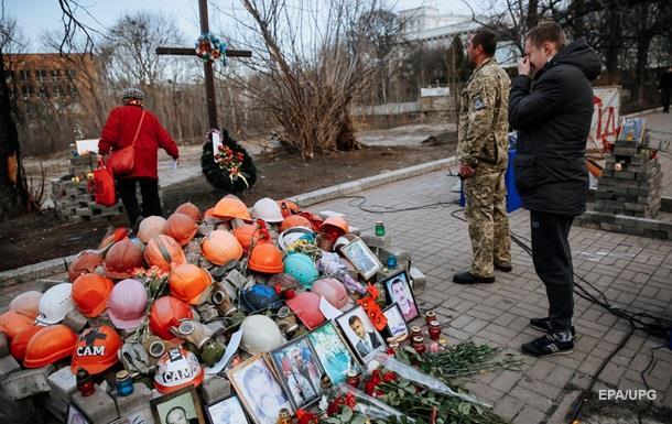 В Киеве проходит вече ветеранов АТО и революции