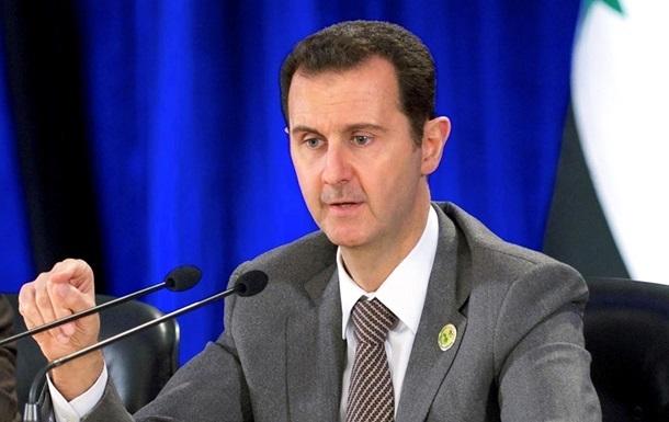 Асад заявив про готовність до перемир я