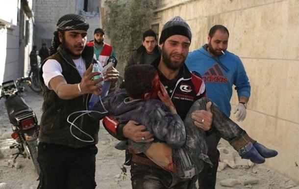 Amnesty: РФ намеренно бомбит гражданских в Сирии