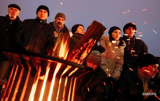 Активисты разблокировали Крещатик