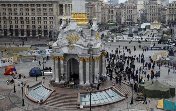 Протести на Майдані вщухають - DW