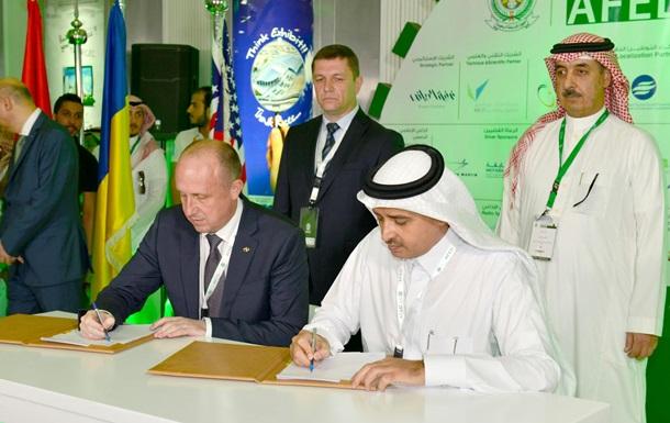 Украина и Саудовская Аравия подписали соглашение о строительстве самолетов