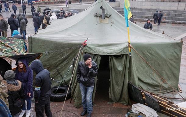 Митингующие заявили, что не покинут Майдан