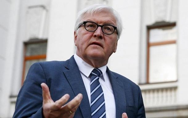 Штайнмайер ждет компромисса по выборам в Донбассе