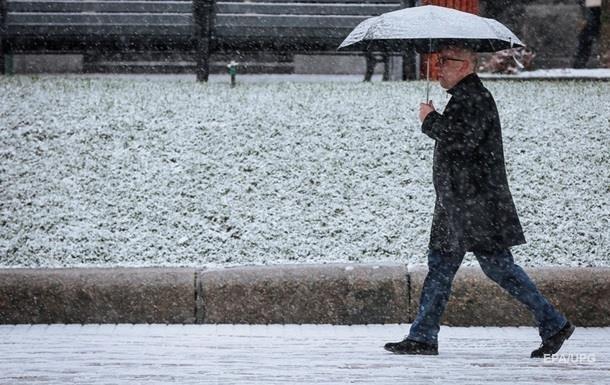В Украину возвращаются дожди с мокрым снегом