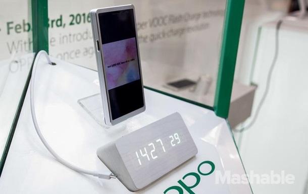 Представлен смартфон с 15-ти минутной зарядкой
