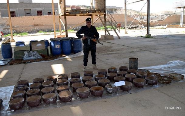 Боевики ИГ используют для своих бомб компоненты из 20 стран