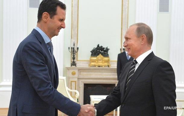 Росія заперечує підтримку особисто Асада