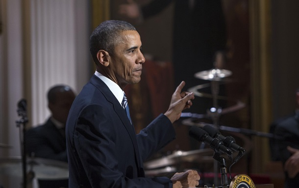 Обама обещал не петь, но не сдержался