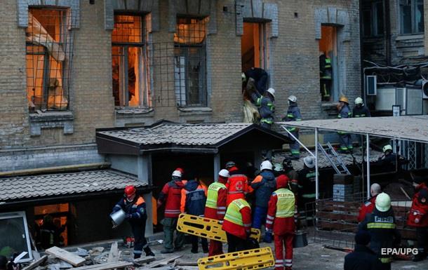 Обвал будинку в Києві: виявлено тіло будівельника