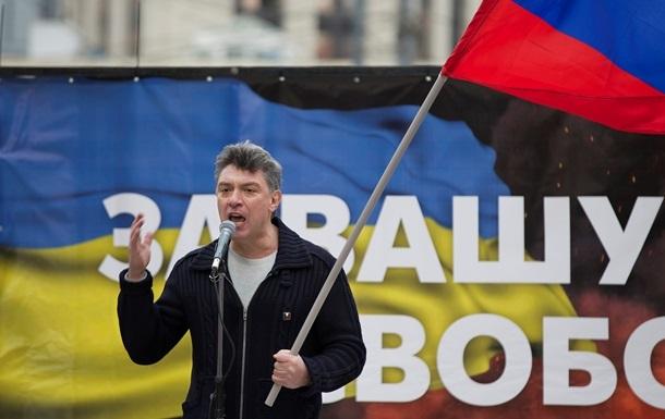 На Майдане проходит акция памяти Немцова