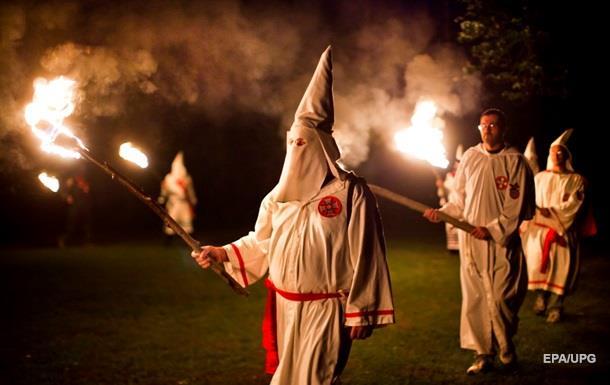 В США подрались Ку-клус-клановцы и митингующие