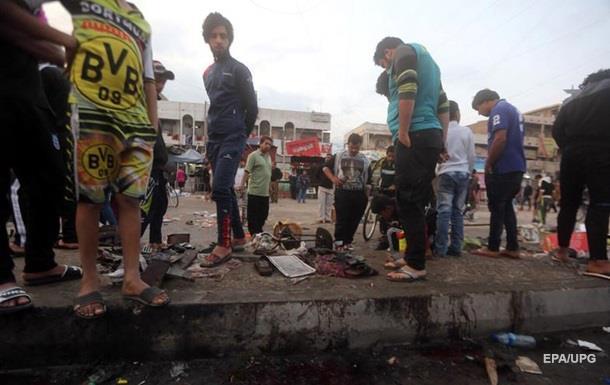 Теракт в Багдаде: погибли 70 человек