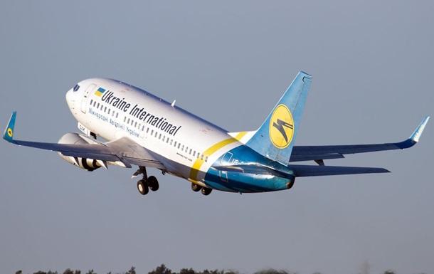 У літаку  Київ-Тель-Авів  під час польоту тріснуло лобове скло