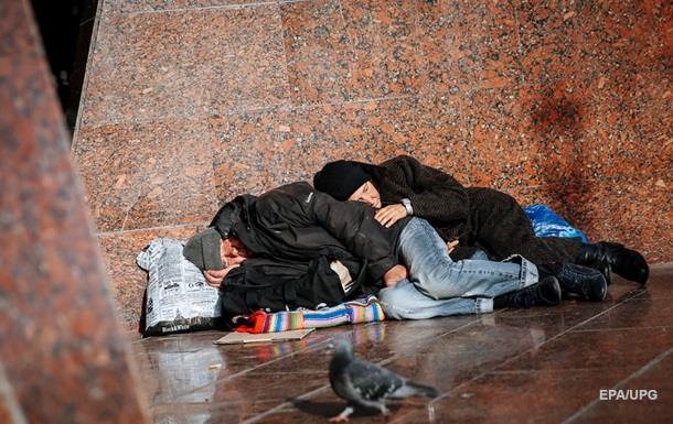 У Донецькій області від переохолодження померли 20 осіб