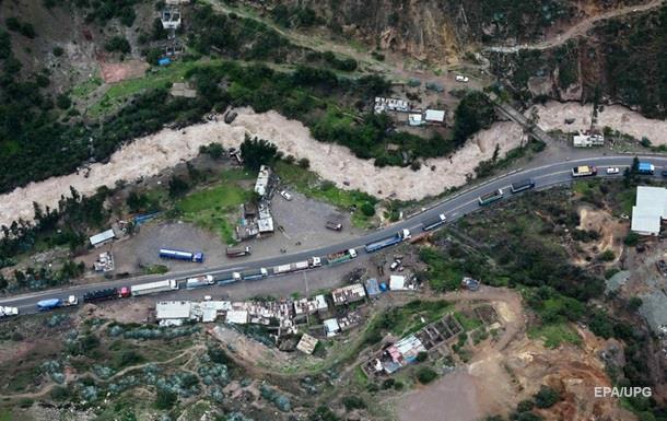 У Перу жертвами повеней стали п ятеро людей