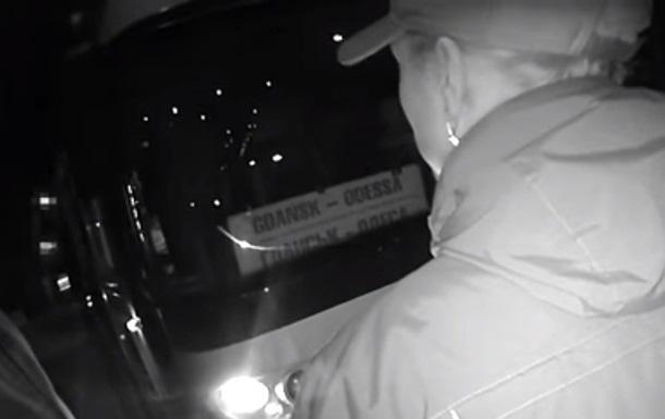 Полицейские задержали пьяного водителя рейсового автобуса