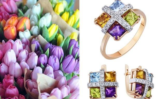 Лучшие ювелирные подарки на 8 марта