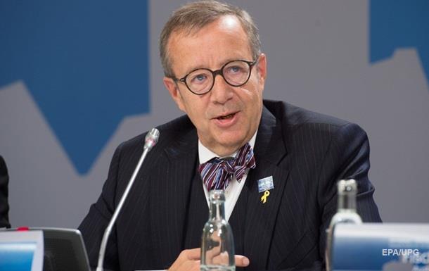 Президент Естонії порівняв анексію Криму з аншлюсом Австрії