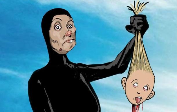 Карикатура на няню-убивцю викликала резонанс в Росії