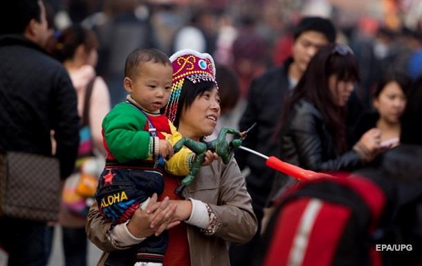 План Китаю: 1,42 мільярда населення до 2020 року