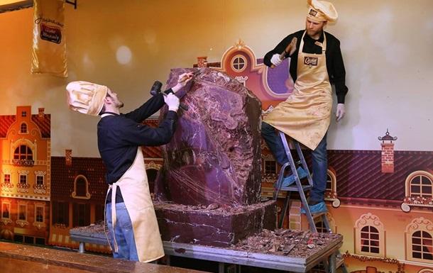 Во Львове из шоколада изготовят коня весом в тонну